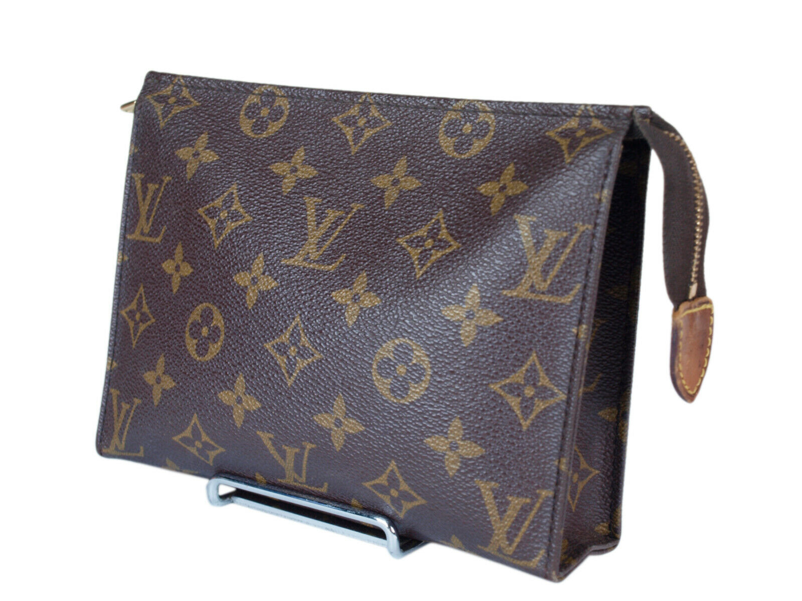baed513dd96 Auth LOUIS VUITTON Monogram Canvas Leather Mini Pouch Accessories Bag  LP2295 - $198.00