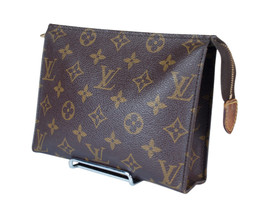 Auth LOUIS VUITTON Monogram Canvas Leather Mini Pouch Accessories Bag LP... - $198.00