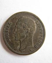 1960 Venezuela 1 Boliver Silver Coin Y#37 - $8.50