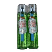 Bath Body Works Peach Honey Almond Fine Body Mist Spray Bundle of 2 Discont - $25.00