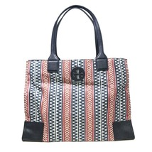 Tory Burch 35722 Ella Printed Pack-able Tote Navy Blue & Multicolor Wome... - $165.00