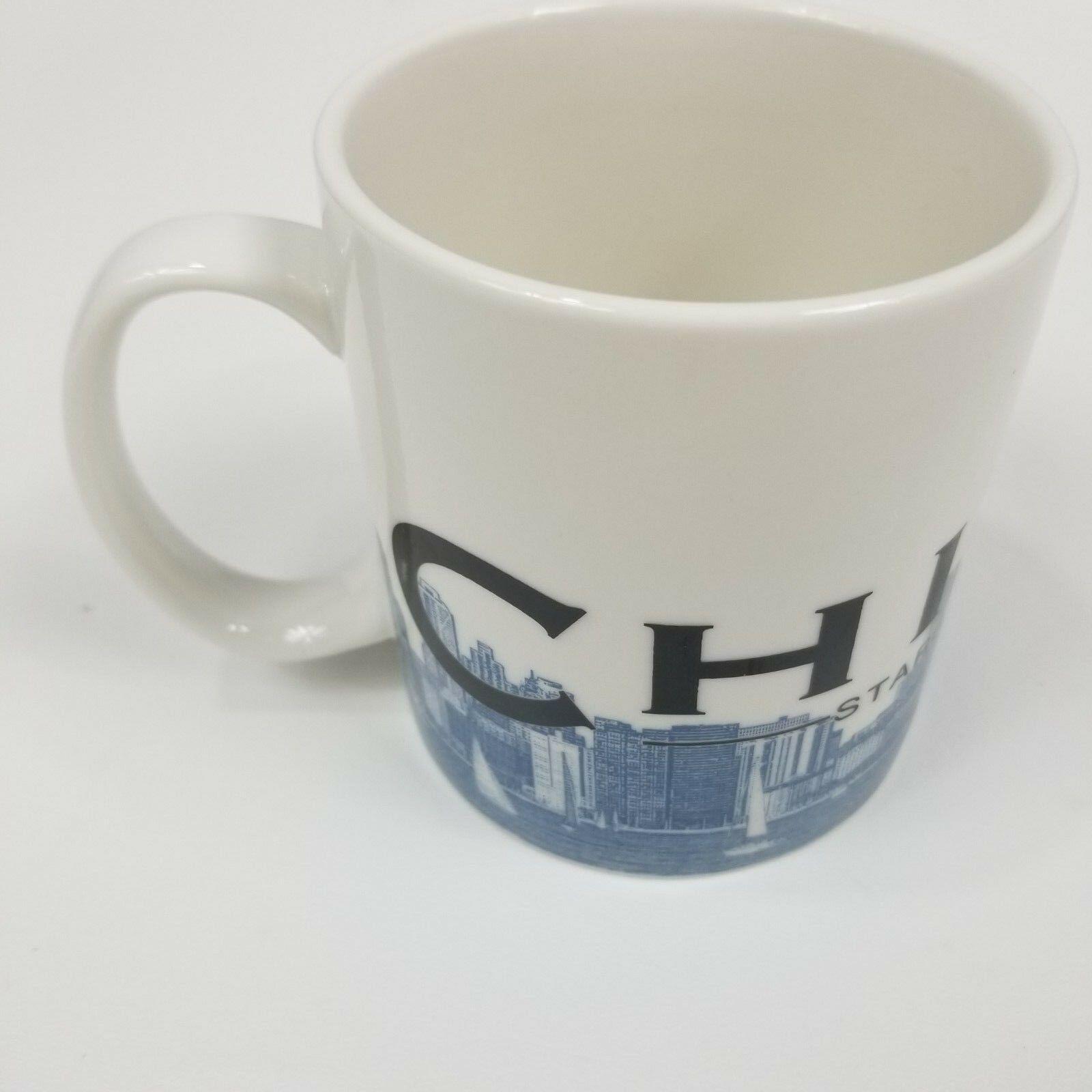 Starbucks Chicago Skyline Series Mug Coffee Cup Tea Large Windy City Barista image 2