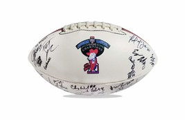 2015 Ole Miss Rebels team signed football w/Certificate autographed (36) - $203.94