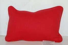 manual Woodworkers Weavers TWBLIF Cream Black Red Balanced Life Dog Cat Pillow image 2