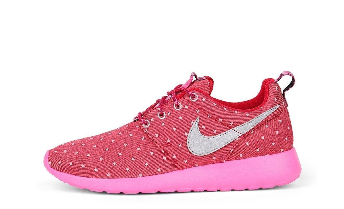 8cd8908cc4a21 Nike Roshe Run Print Womens Girls Trainers UK-5 5.5 Genuine BNIB 677784 606