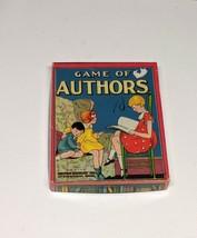 Vintage Game of Authors Incomplete/Parts - paper ephemera - $8.42