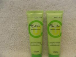 Matrix Curl.Life Defining System Extra Intense CONDITIONER~1.7 Oz~Lot Of 2 Tubes - $5.85