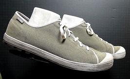 Men's Palladium Casual Cool Slate Grey Canvas Sneaker Sz. 13 EXCELLENT! - $29.32