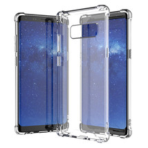Galaxy Note 8 Crystal Clear Case ShockProof Drop Resistant Hybrid TPU Sa... - $4.97