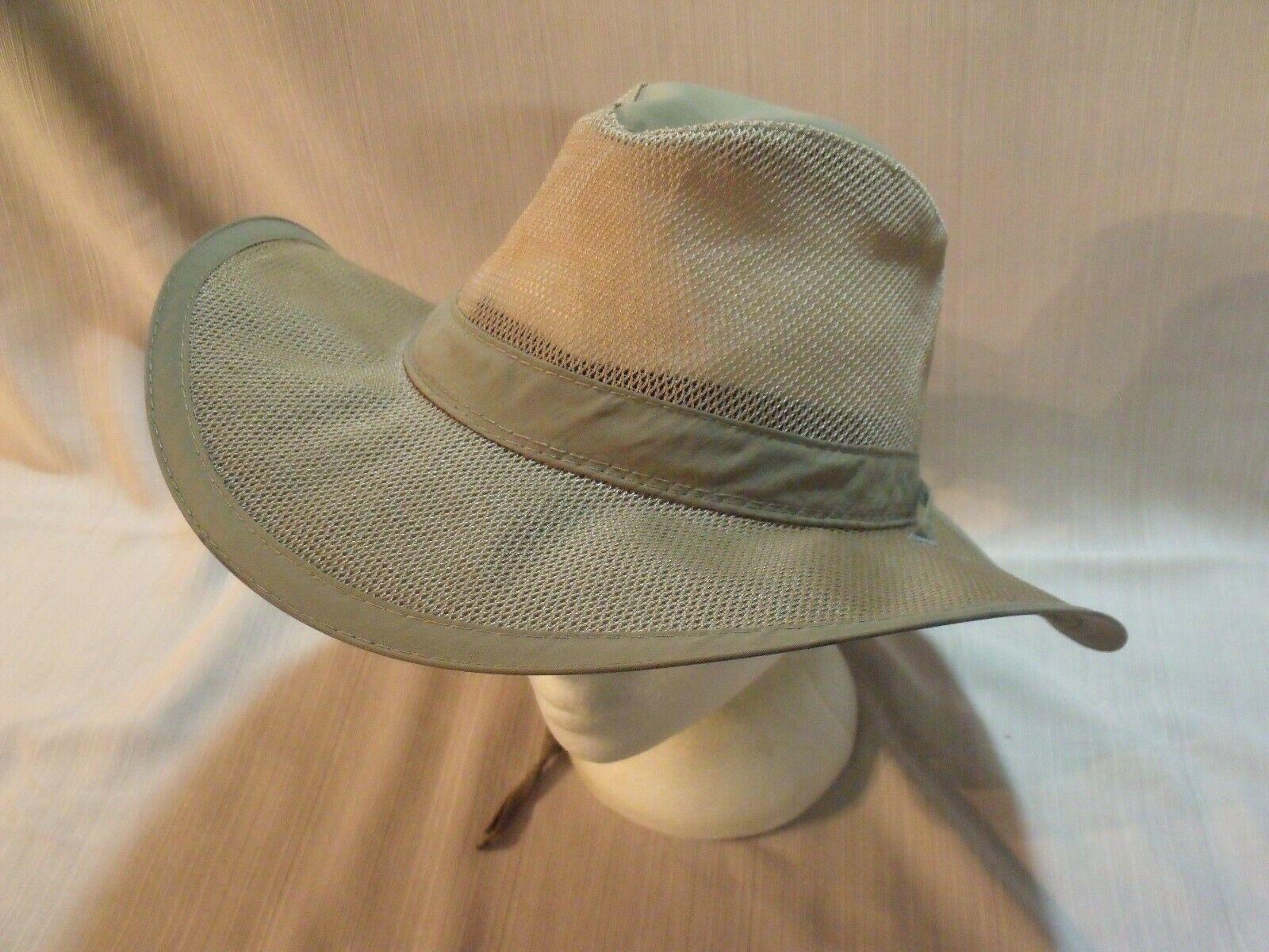 DPC Dorfman Pacific Co Wide Brim Airflow Hat Large