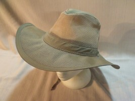 DPC Dorfman Pacific Co Wide Brim Airflow Hat Large - $39.60