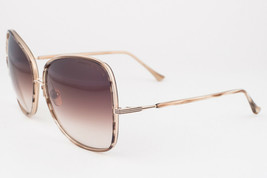 DITA Bluebird Two Brown Swirl Gold / Brown Gradient Sunglasses DRX-21011... - $246.51