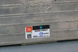 Toyota Radio Stereo Audio Amp Amplifier JBL GeenEdge 86820-0w831 image 5