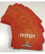 Cranium Super Showdown Game 60 Red Contest Play Cards Replacement Piece ... - $7.12