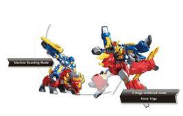 Miniforce Force Triga Super Dinosaur Power Action Figure Transforming Toy Robot image 3