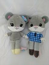 Tiny Tukkins Mouse Plush Lot Boy Girl 2019 Beverly Hills Teddy Bear Co S... - $9.95