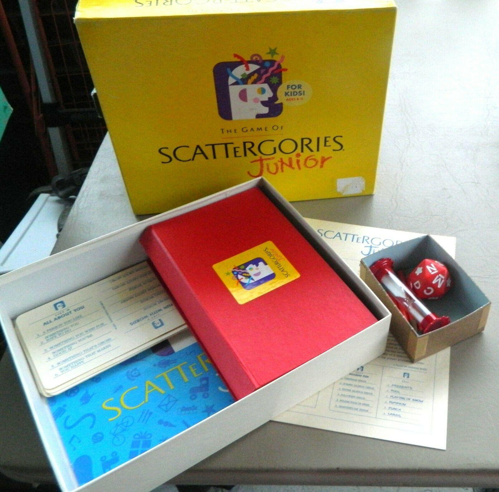 Scattergories Junior Jr Mb Vintage 1989 And 50 Similar Items