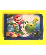 Super Mario Brothers  Children's Wallet— More Fun Characters Available T... - $7.00
