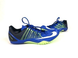Nike Zoom Celar 5 Mens Track Sprint Blue Green Shoes ( 629226-413 ) Size 13 - $27.57