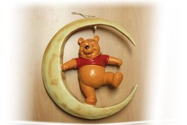 Extremely Rare! Walt Disney Winnie the Pooh Sitting on the Moon Big Statue - $178.50