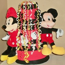 Disney Minnie and Mickey Mouse Baby Shower 3 Tier Red  Yellow Black Diap... - $50.00