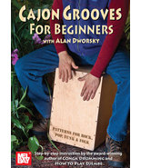 Cajon Grooves For Beginners DVD/Dworsky/New - $14.99