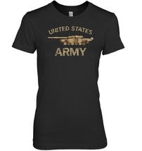 United States Army Main Battle Tank Grunge T Shirt - $19.99+