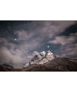 Mountain & Stars -  Art Picture Poster Photo Print 5MNTN - $14.99+
