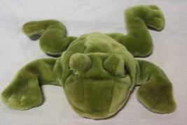 "Folkmanis NICE FROG HAND PUPPET 12"" Plush Stuffed Animal Toy - $24.74"