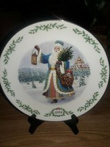 Lenox 1994 Victorian Santa Russian Grandfather Frost Collector Plate Vintage - $17.82