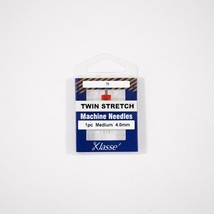 Klasse Twin Stretch 4.0mm/75, 1 Needle, Bundle of 5 Sold by the Bundle of 5 - $12.86