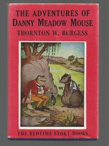 Burgess ADVENTURES OF DANNY MEADOW MOUSE   w/d     EX++    1943 - $16.05