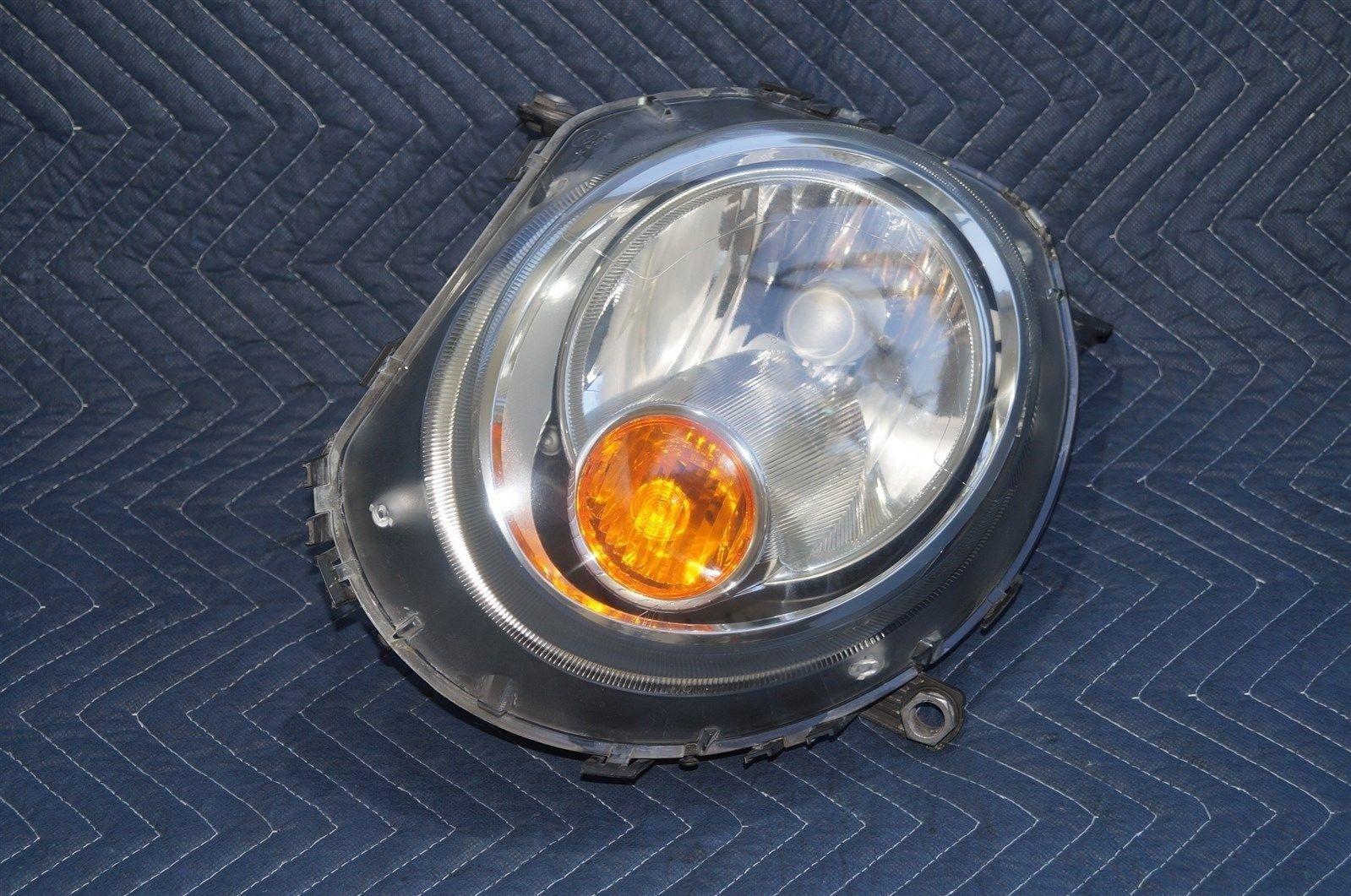 07-12 Mini Cooper Halogen Headlight Head Light Lamp Driver Left Side - LH