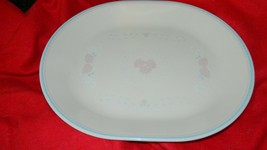 Corelle Blossoms In Lace 12.25 Inch Oval Serving Platter Free Usa Ship - $28.04