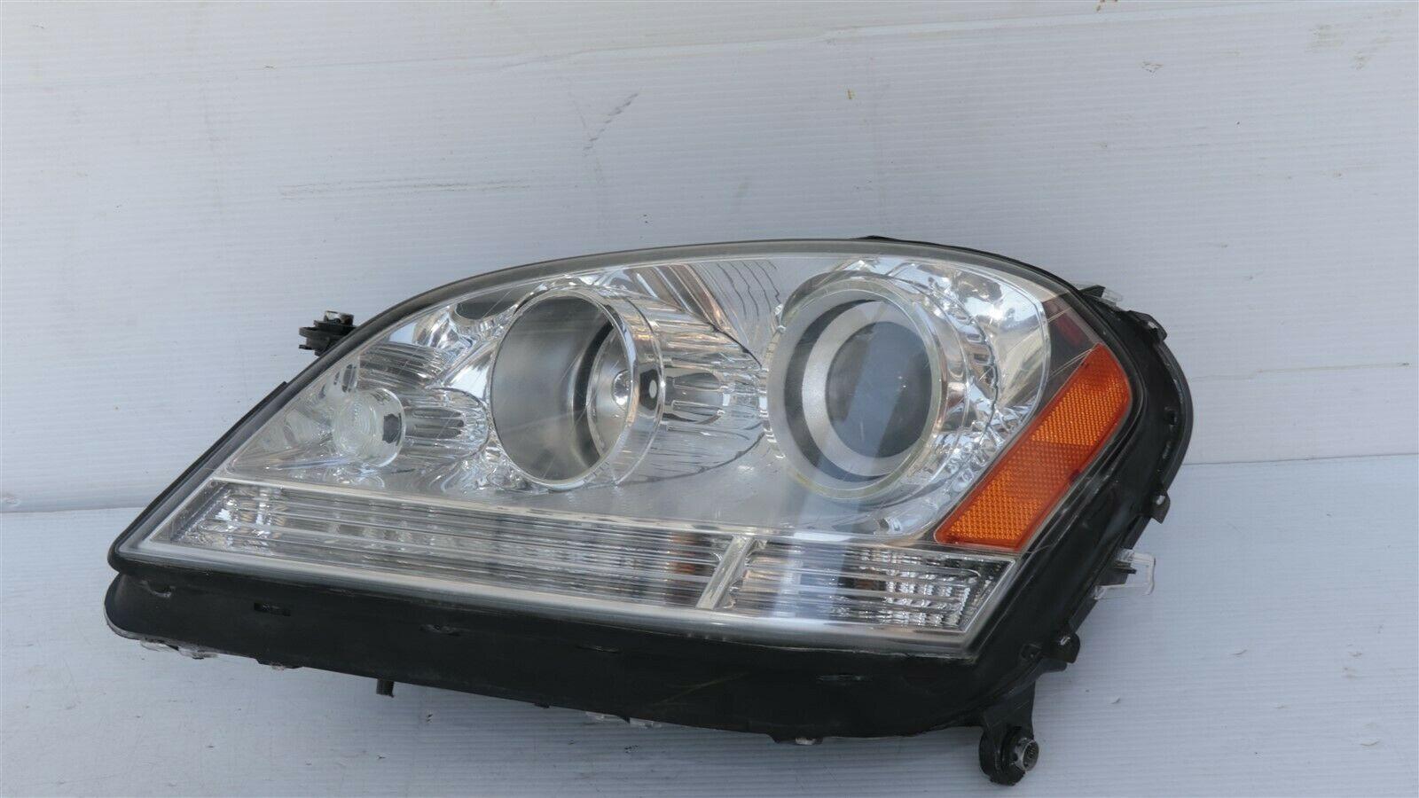 07-12 Mercedes Benz W164 ML320 GL450 Headlight Lamp Halogen Driver Left LH