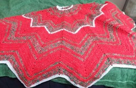 hand crocheted Christmas Tree skirt - $45.00