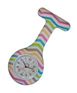 NWOT Chevron Patterned Nurses  Silicone (Infection Control) Lapel Watch - $15.79