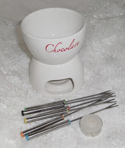 Avon Classic Fondue Set - Heats with Tea Light! - Floor Model - $11.40