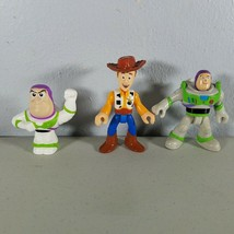 """Buzz Lightyear and Andy 2"""" - 3"""" Tall Toy Story Mini Figures  - $10.15"""
