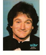Robin Williams teen magazine pinup clipping 80's Aladdin One Hour Photo - $1.50