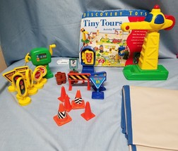 DISCOVERY TOYS TINY TOURS SET AND PLAY MAT VINTAGE RETIRED - $18.50