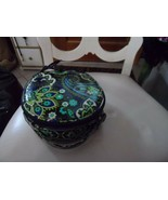 Vera Bradley HatBox Cosmetic in Rhythm and Blues - $23.50