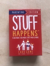 Stuff Happens Card Game Parenting Edition - New Sealed - Family Fun Game! - $14.06