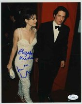 Elizabeth Hurley & Hugh Grant Signed 8x10 Photo Certified Authentic JSA COA - $247.49