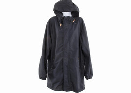 Nanamica x J Crew Men's Pier Coat Jacket Windbreaker Hooded  C1731 S Navy - $331.19