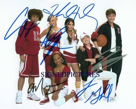 HIGH SCHOOL MUSICAL CAST SIGNED AUTOGRAPHED 8X10 RP PHOTO ZAC EFRON VANE... - $15.99