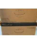 Pampered Chef Stoneware 1364 Round Cranberry Casserole new with box - $49.39