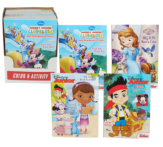 Disney Jr Coloring & Activity Book - Set of 2 Books - $9.99