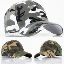 New Top Grade Hip Hop Unisex Baseball Caps Camouflage Cap Casual Cotton Adjustab