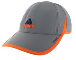 Adidas Adizero Gray Orange Trim Design Unisex All Sports Hat Cap New - $20.00